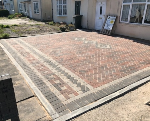 block paving makeover in Leicester
