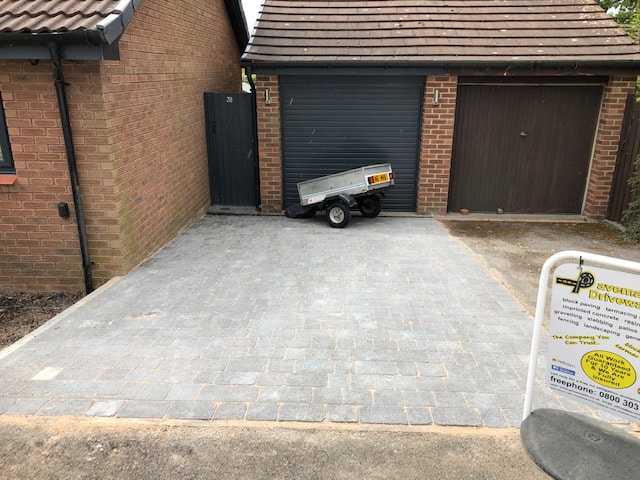 block paving driveway Leicester