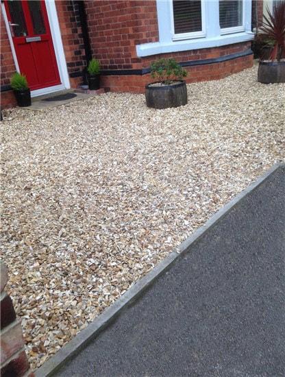 gravel driveways Leicester